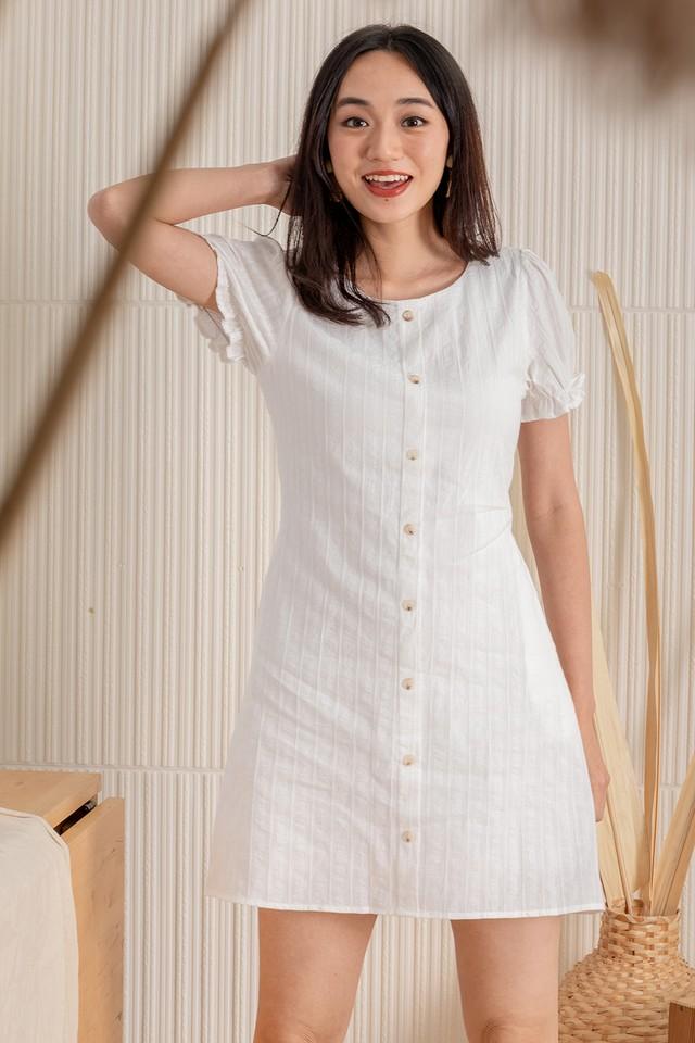 Samara Dress White