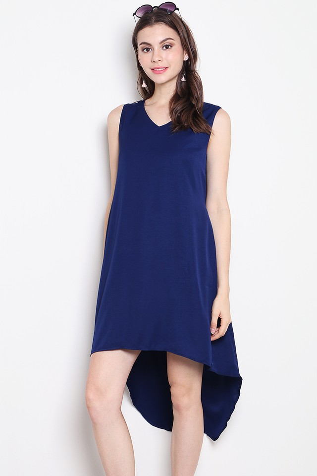 Yedda Dress Navy